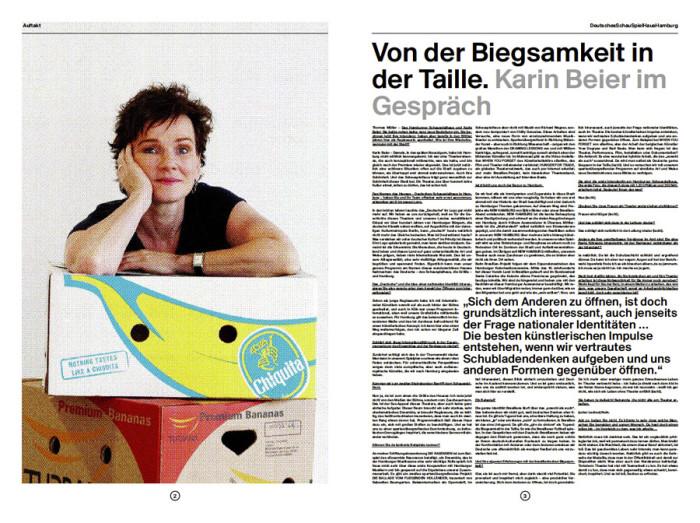 Deutsches Schauspielhaus – Spielzeit-Zeitung