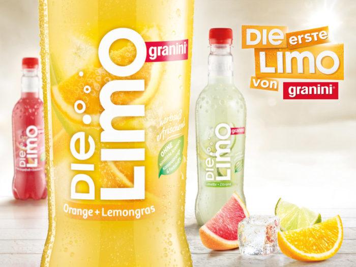 Granini Die Limo – Orange-Lemongras
