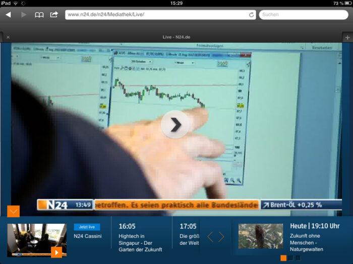 N24 Live-Stream