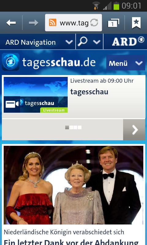 Tagesschau.de (Smartphone)