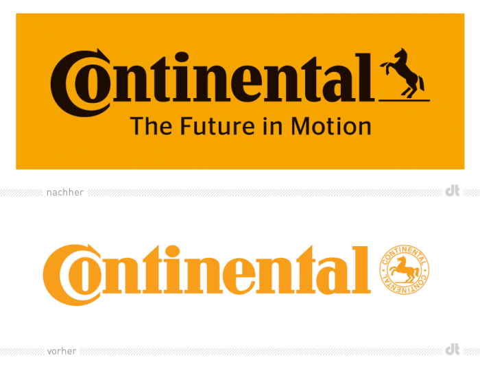 Continental erhält neues Logo