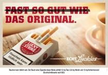Lucky Strike Anzeige / Werbung 2013