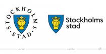 Stockholm Stadtlogo – vorher und nachher