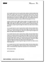 Brief Folgeseite