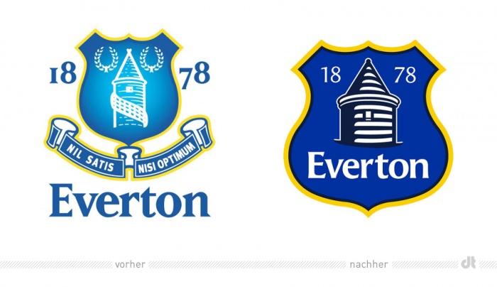 FC Everton ändert Vereinswappen und erntet Kritik der Fans