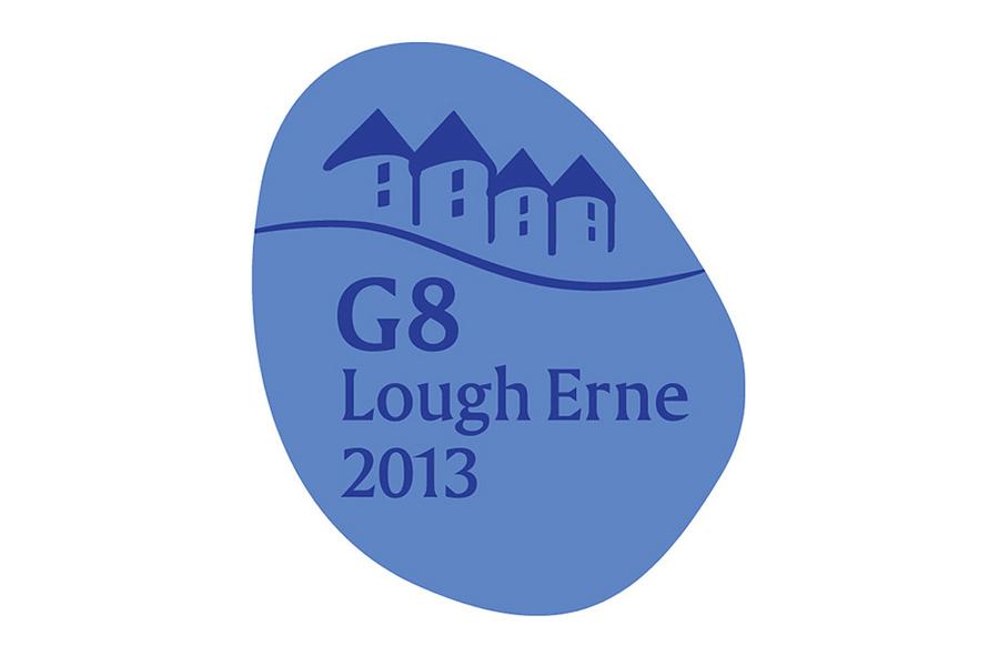 Logo G8-Gipfel 2013