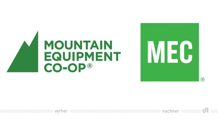 MEC Mountain Equipment Co-Op Logo