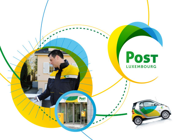 Post Luxembourg – Neues Design