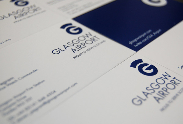 Glasgow Airport Business Cards