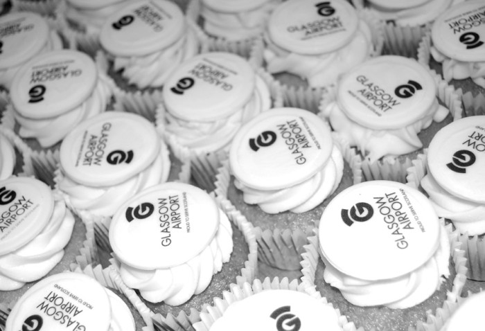 Glasgow Airport Cupcakes