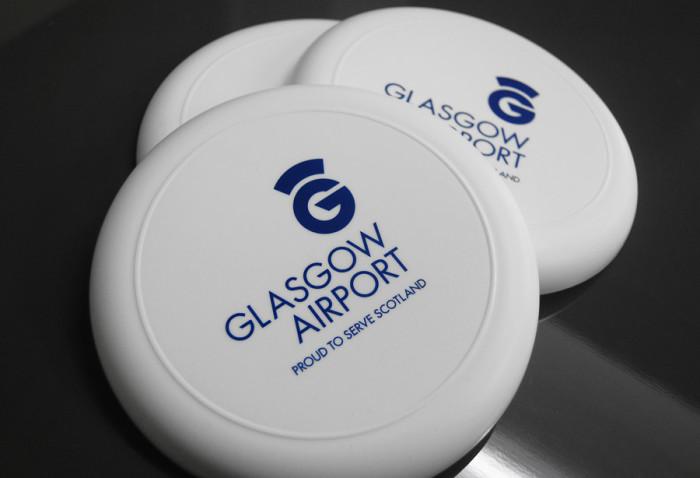 Glasgow Airport Frisbees