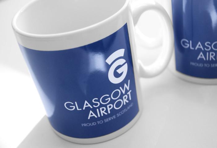Glasgow Airport Mugs