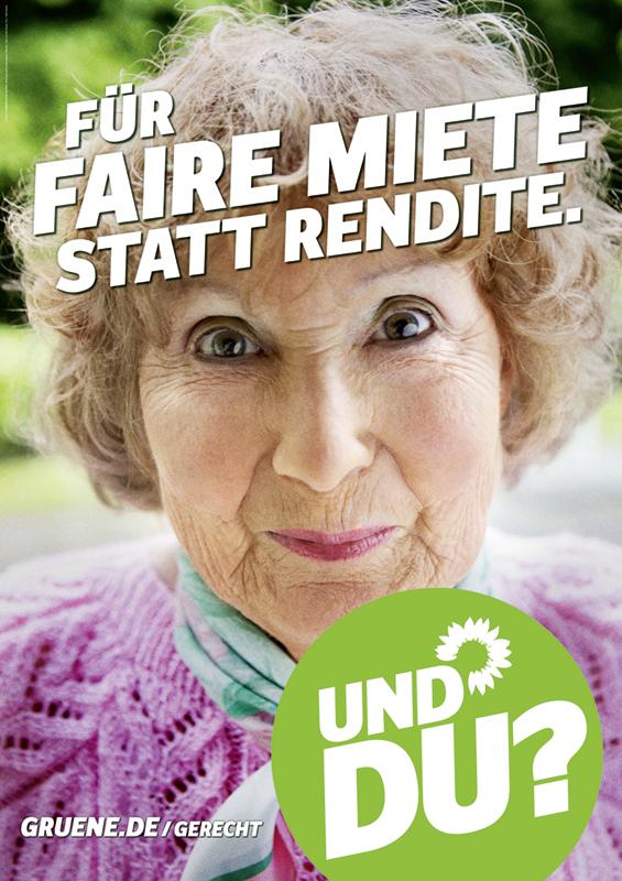 Bündnis90/Die Grünen Wahlplakat 2013 – Jürgen Trittin