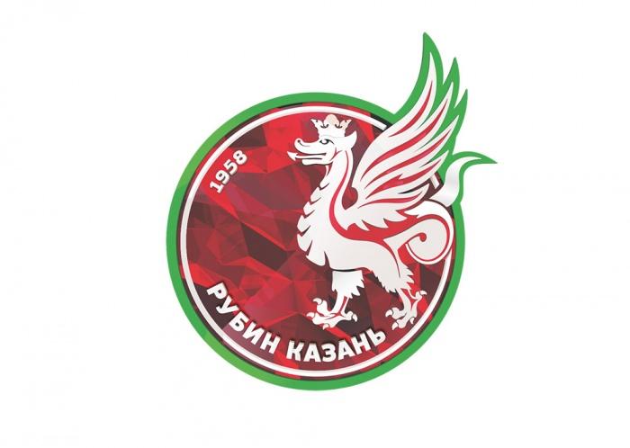 Rubin Kasan mit neuem Vereinslogo