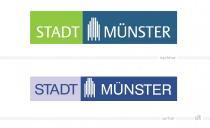 Logo Stadt Münster – vorher und nachher