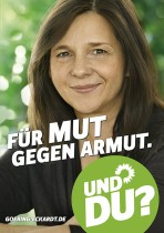 Bündnis90/Die Grünen Wahlplakat 2013 – Katrin Göring-Eckardt