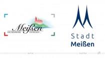 Stadt Meißen Logo – vorher und nachher