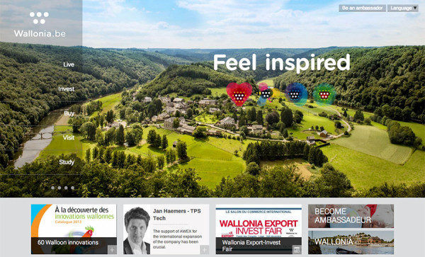 Wallonia Website