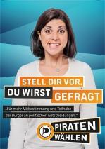 Piratenpartei Wahlplakat 2013