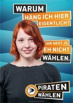 Piratenpartei Wahlplakat 2013Piratenpartei Wahlplakat 2013