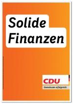 CDU Wahlplakat Bundestagswahl 2013