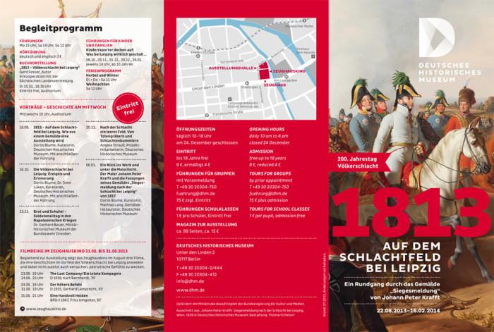 Deutsches Historisches Museum Flyer,