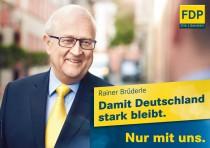 FDP Wahlplakat Bundestagswahl 2013