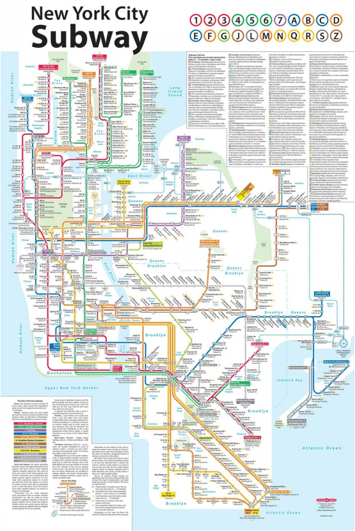 New York City Subway Map – Design Tagebuch Newyork City Map on