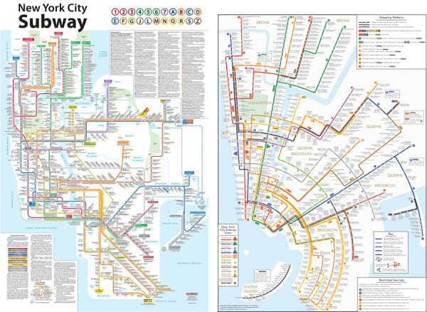 Redesign: New York City Subway Map – Design Tagebuch