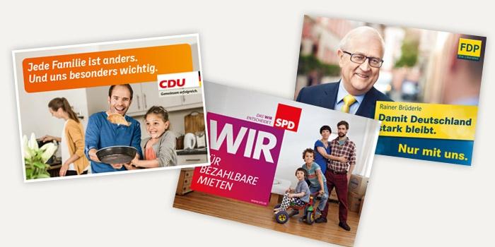 Die Plakate zur Bundestagswahl 2013 – Teil 2