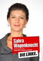 Die Linke Wahlplakat 2013 – Sahra Wagenknecht