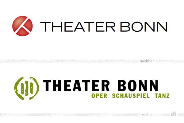 Theater Bonn Logo – vorher und nachher