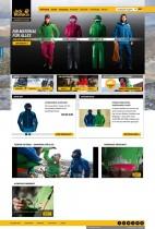 Jack Wolfskin Website
