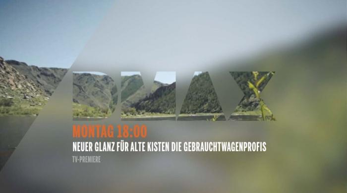 DMAX im neuen On-Air-Design (2013)
