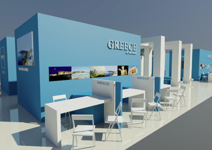Greece Messestand