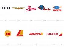 Iberia Logohistorie