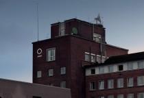 Meteorologisk Institutt – Außenschild