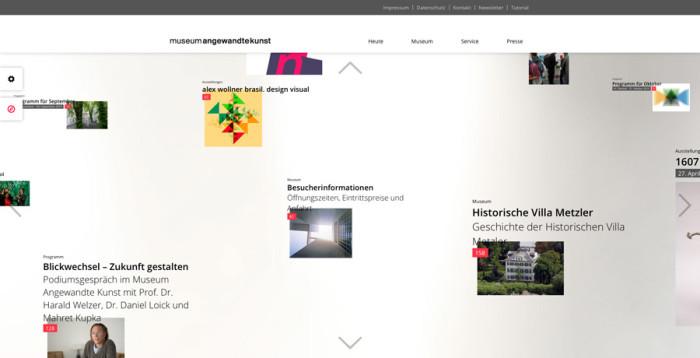 Museum Angewandte Kunst Frankfurt Website