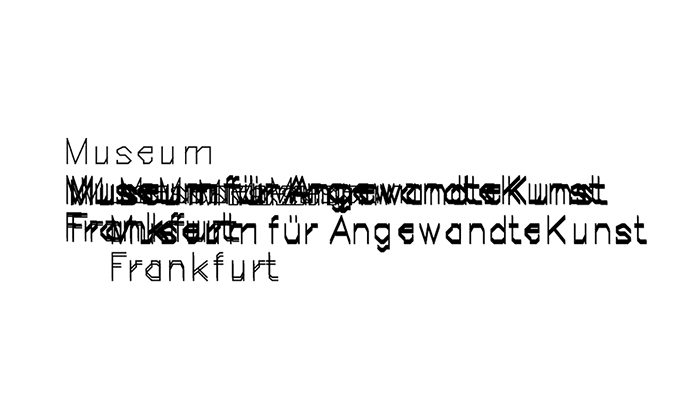 Helvetica statt 025aPlotter – Ein Paradigmenwechsel beim Museum Angewandte Kunst Frankfurt