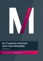 Flughafen München – Plakat