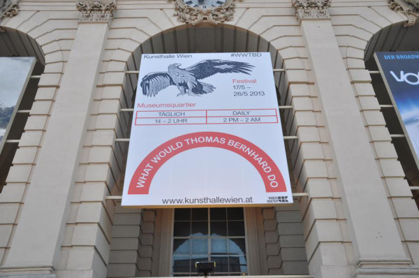 "Kunsthalle Wien –"" Plakat"