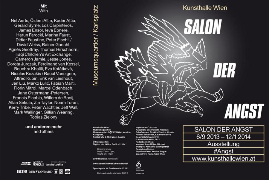 Kunsthalle Wien – Salon der Angst – Design Tagebuch