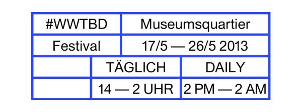 """Kunsthalle Wien –"""" Werkstempel"""