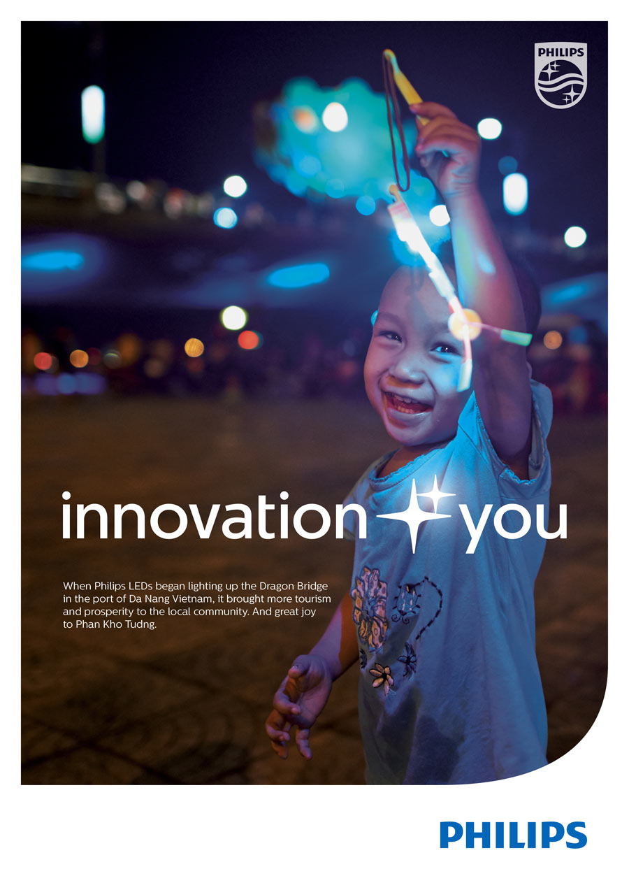 philips new slogan Innovation and You