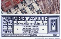 Wiener Werkstätte – Briefkuvert