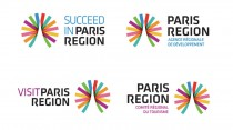 Paris Region – die verschiedenen Markenlogos