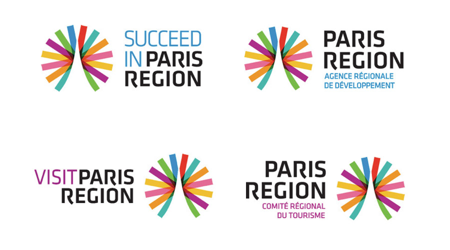 Paris Region – Logoelemente