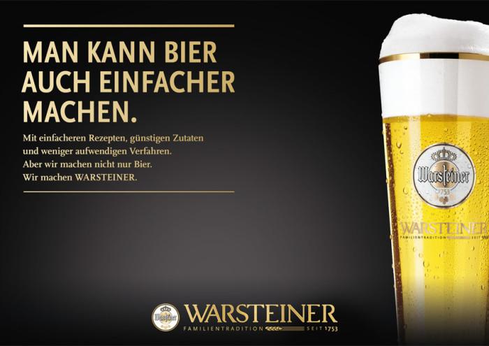 Warsteiner – Anzeige