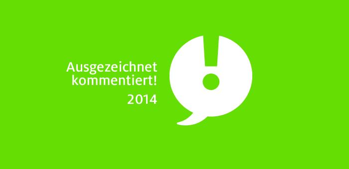 Ausgezeichnet kommentiert! 2014 – mehr denn je etwas für Designliebhaber
