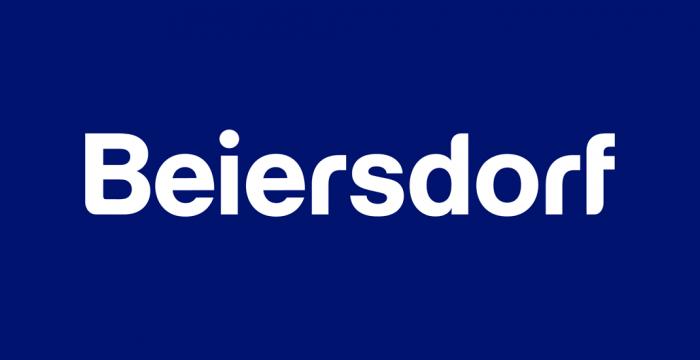 Formpflege für das Logo von Beiersdorf
